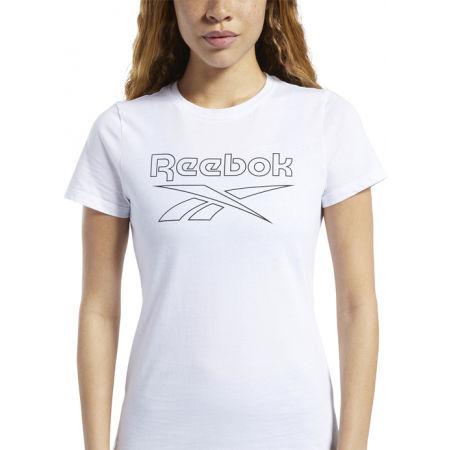Női póló - Reebok TE GRAPHIC TEE DELTA - 4