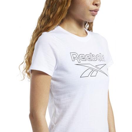 Női póló - Reebok TE GRAPHIC TEE DELTA - 5