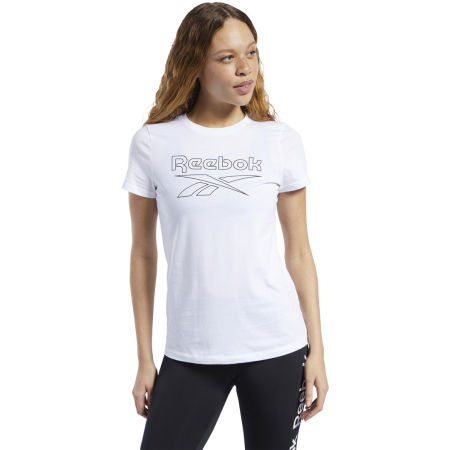 Women's T-shirt - Reebok TE GRAPHIC TEE DELTA - 2