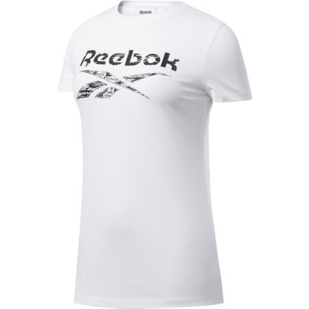 Reebok TE GRAPHIC TEE DELTA - Damen Shirt