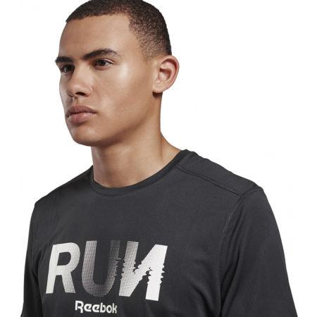 Men's T-shirt - Reebok RE GRAPHIC TEE - 5