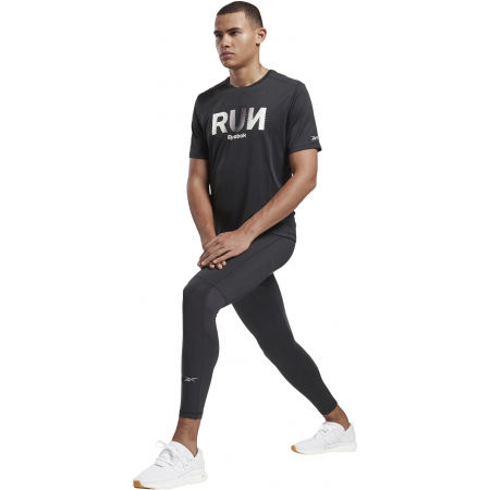Men's T-shirt - Reebok RE GRAPHIC TEE - 4