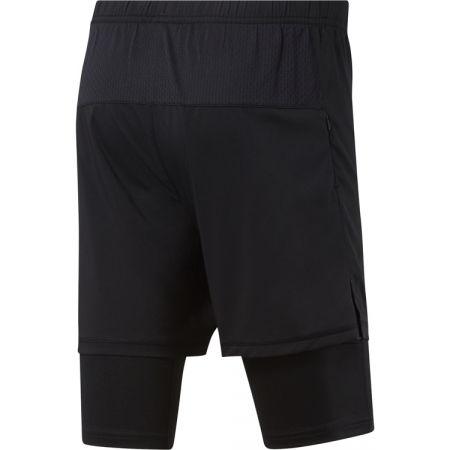 Pánské běžecké šortky - Reebok RE  2-1  SHORT - 2