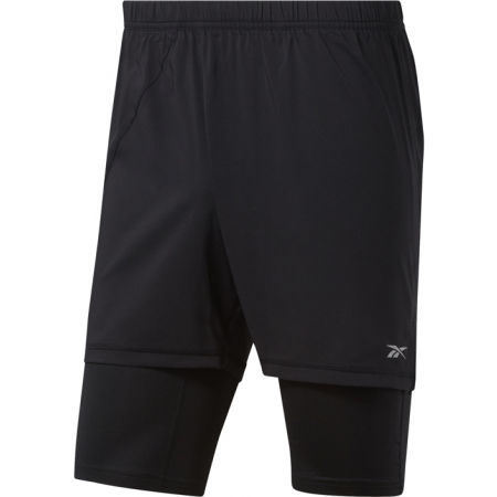 Reebok RE  2-1  SHORT - Pánske bežecké šortky