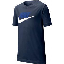 Nike NSW TEE FUTURA ICON TD B - Tricou de băieți