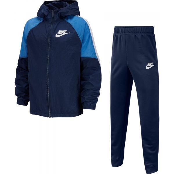 Nike NSW WOVEN TRACK SUIT B - Chlapčenská tepláková súprava