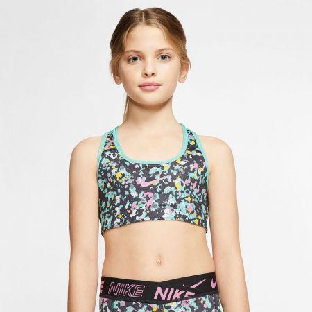 Girls' reversible sports bra - Nike CL REVERSIBLE BRA JDIY G - 9