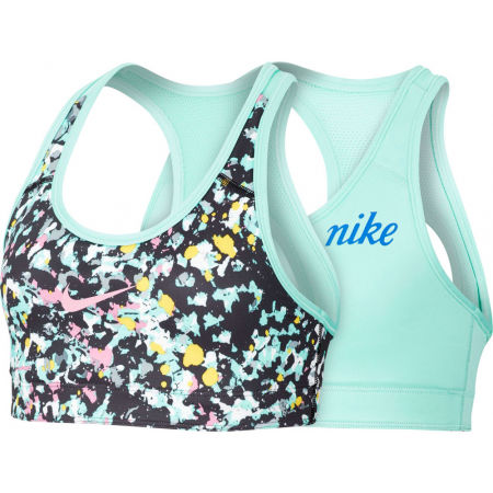 Girls' reversible sports bra - Nike CL REVERSIBLE BRA JDIY G - 1