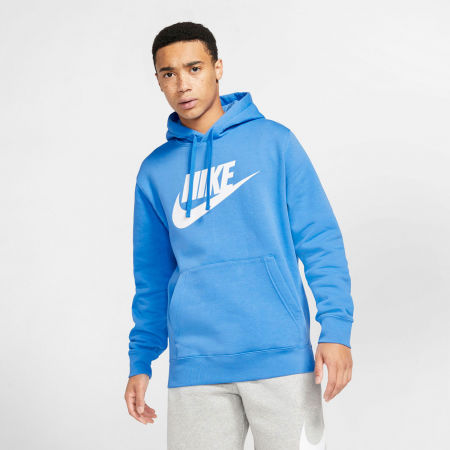 Bluza męska - Nike NSW CLUB HOODIE PO BB GX M - 3