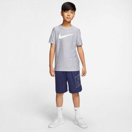 Тениска за тренировка за момчета - Nike CORE SS PERF TOP HTHR B - 5