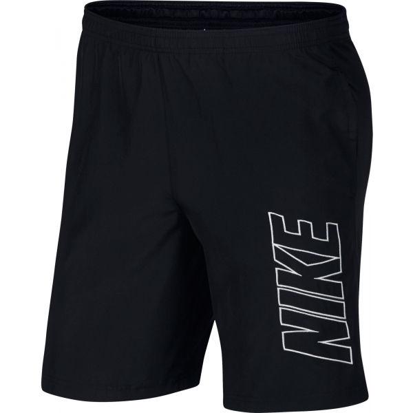 Nike NSW CLUB TEE - LS M černá S - Pánské šortky