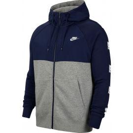 Nike NSW CE HOODIE FZ BB HYBRID M - Pánská mikina