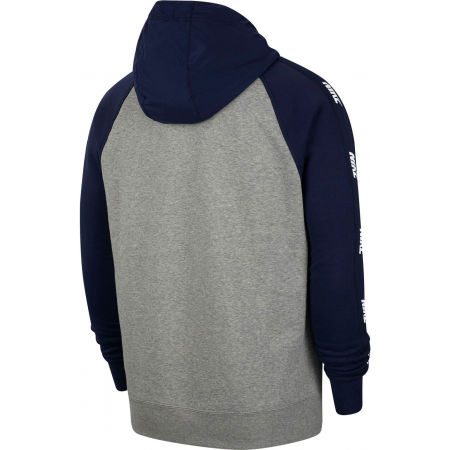 Férfi pulóver - Nike NSW CE HOODIE FZ BB HYBRID M - 2
