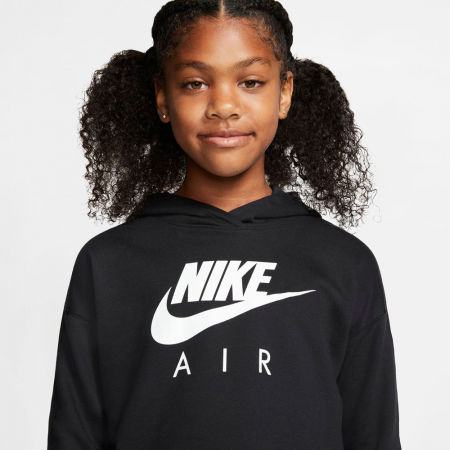 Girls' sweatshirt - Nike NSW NIKE AIR CROP HOODIE G - 5