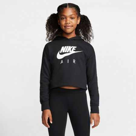 Girls' sweatshirt - Nike NSW NIKE AIR CROP HOODIE G - 3