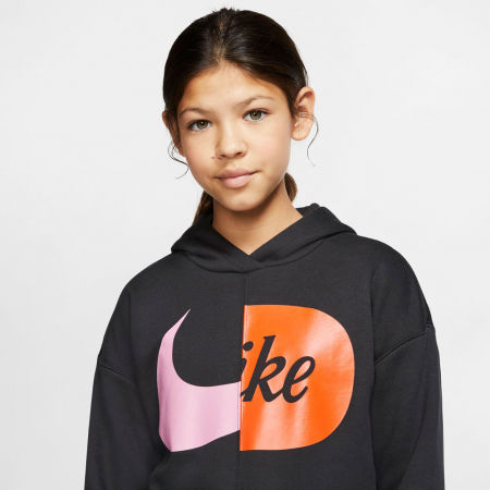 Girls' sweatshirt - Nike NSW HOODIE FLC JDIY G - 5