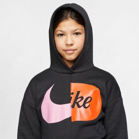Girls' sweatshirt - Nike NSW HOODIE FLC JDIY G - 6