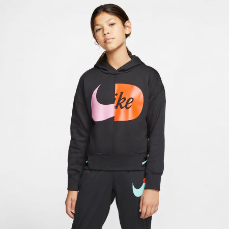 Girls' sweatshirt - Nike NSW HOODIE FLC JDIY G - 3
