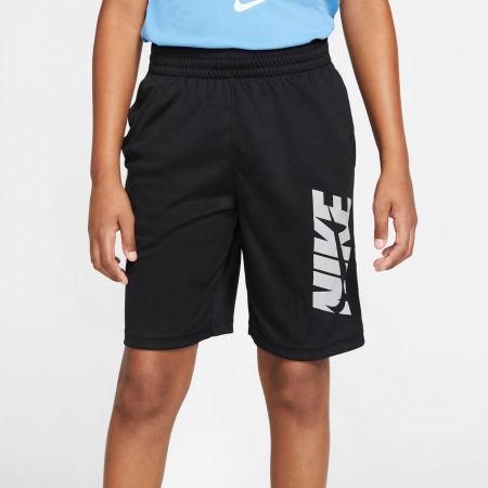 Spodenki treningowe chłopięce - Nike HBR SHORT B - 5