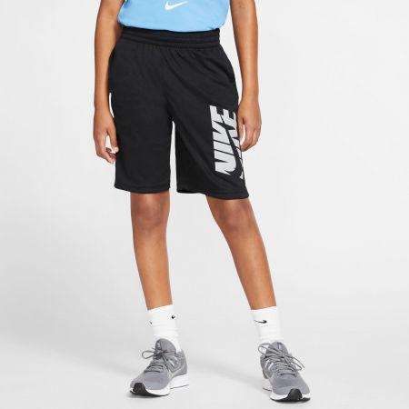 Spodenki treningowe chłopięce - Nike HBR SHORT B - 4