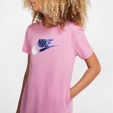 Dievčenské šaty - Nike NSW TSHIRT DRESS FUTURA G - 5