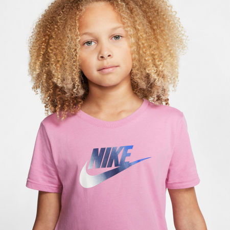 Dievčenské šaty - Nike NSW TSHIRT DRESS FUTURA G - 6