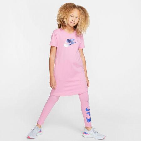 Dievčenské šaty - Nike NSW TSHIRT DRESS FUTURA G - 7