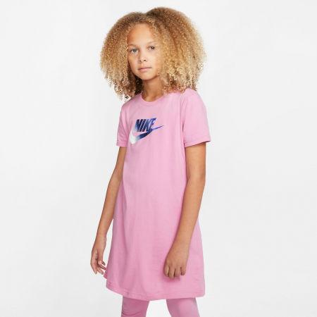 Dievčenské šaty - Nike NSW TSHIRT DRESS FUTURA G - 3