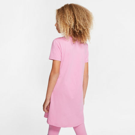 Dievčenské šaty - Nike NSW TSHIRT DRESS FUTURA G - 4