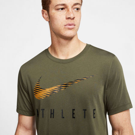 Мъжка тениска за трениране - Nike DRY TEE DB SWSH ATHLE SNL M - 8