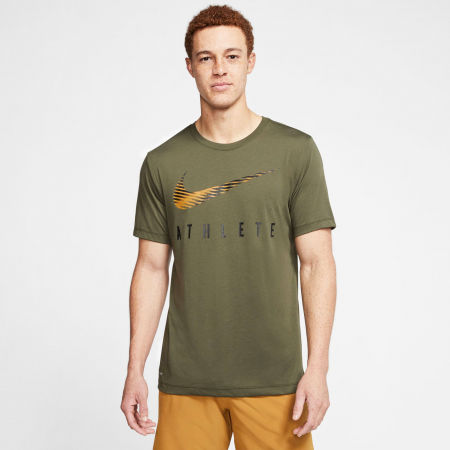 Мъжка тениска за трениране - Nike DRY TEE DB SWSH ATHLE SNL M - 6