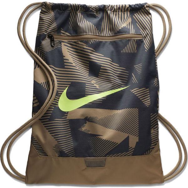Nike BRASILIA GYMSACK hnědá NS - Gymsack