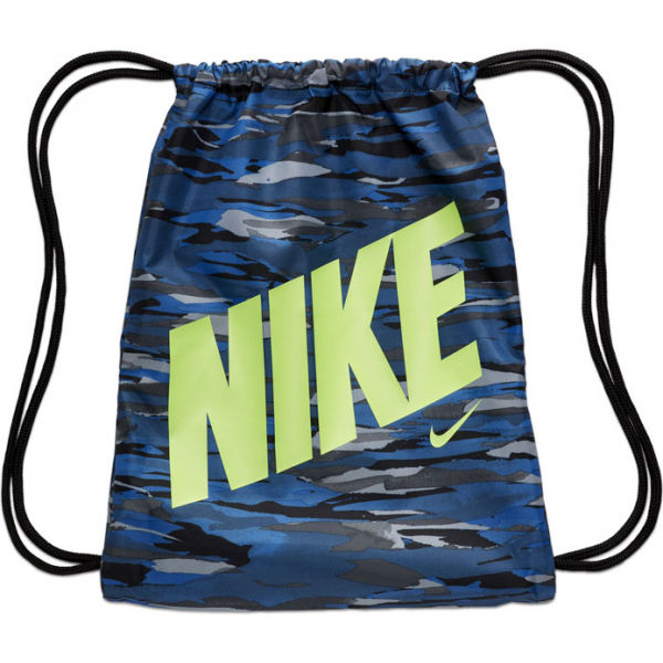Nike PRINTED GYMSACK modrá NS - Gymsack