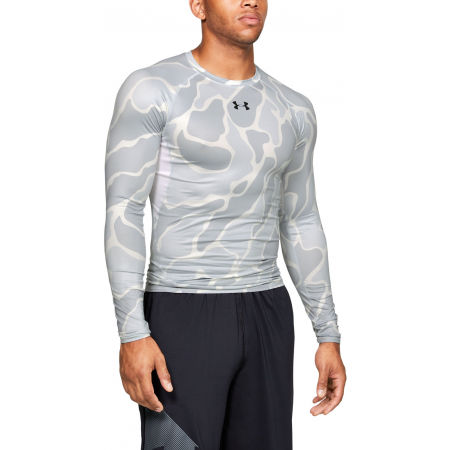Férfi póló - Under Armour HG ARMOUR LS NOV - 3