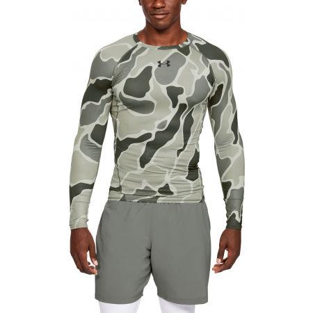 Pánske tričko - Under Armour HG ARMOUR LS NOV - 3