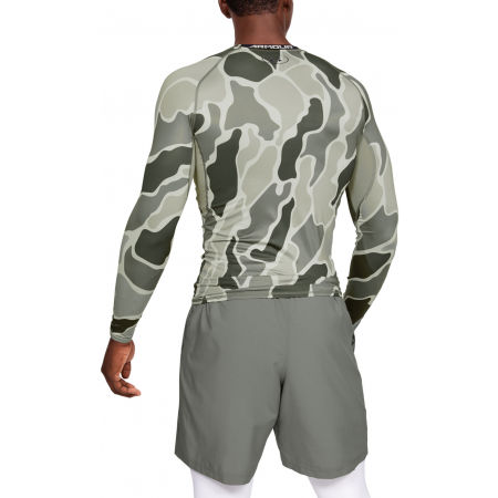 Pánske tričko - Under Armour HG ARMOUR LS NOV - 5