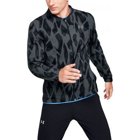 Men's jacket - Under Armour LAUNCH 2.0 PRINTED JACKET - 3