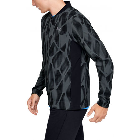 Men's jacket - Under Armour LAUNCH 2.0 PRINTED JACKET - 4
