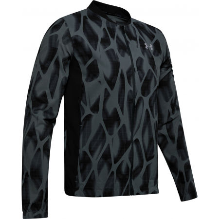 Men's jacket - Under Armour LAUNCH 2.0 PRINTED JACKET - 1