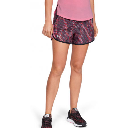 Women's shorts - Under Armour FLY BY 2.0 PRINTED SHORT - 5