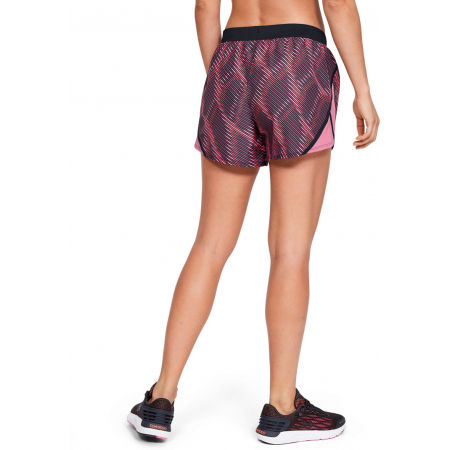Women's shorts - Under Armour FLY BY 2.0 PRINTED SHORT - 7