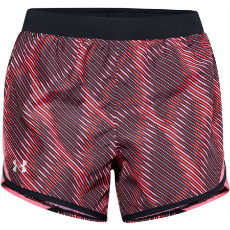 Women's shorts - Under Armour FLY BY 2.0 PRINTED SHORT - 2