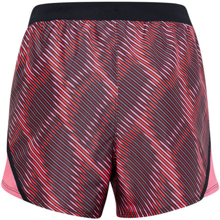 Women's shorts - Under Armour FLY BY 2.0 PRINTED SHORT - 4