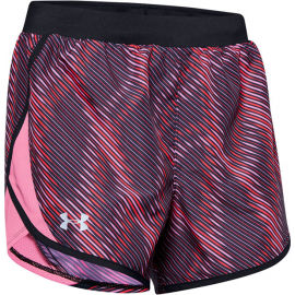 Under Armour FLY BY 2.0 PRINTED SHORT - Női rövidnadrág