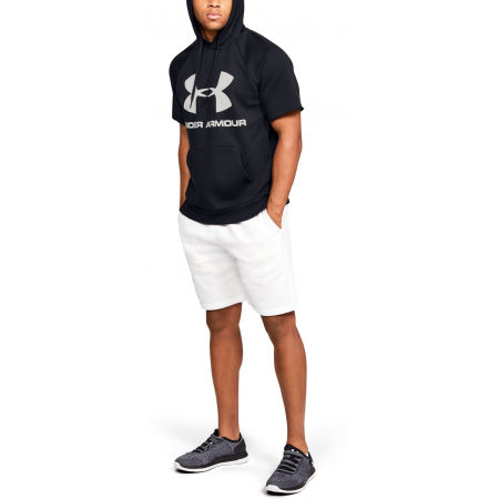Мъжки суитшърт - Under Armour RIVAL FLEECE LOGO SS - 7