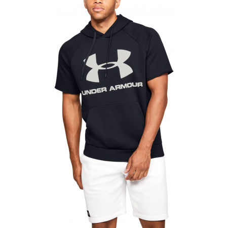 Мъжки суитшърт - Under Armour RIVAL FLEECE LOGO SS - 5