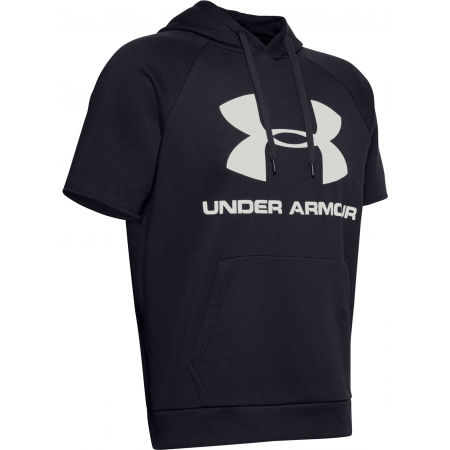 Мъжки суитшърт - Under Armour RIVAL FLEECE LOGO SS - 4