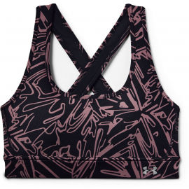 Under Armour ARMOUR MID CROSSBACK PRINTED BRA