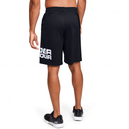 Men's shorts - Under Armour TECH WORDMARK SHORTS - 4