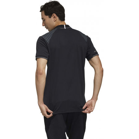 Men's polo shirt - adidas HTRDY CB M PL 1 - 7